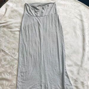 NWOT Maternity Maxi Skirt